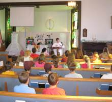 A Vacation Bible School seminar.